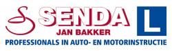 Logo rijschool Senda - Jan Bakker